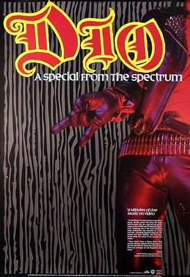 Dio 1984 A Special From The Spectrum Promo Poster Original