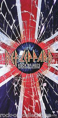 Def Leppard 2005 Rock Of Ages Promo Poster Original