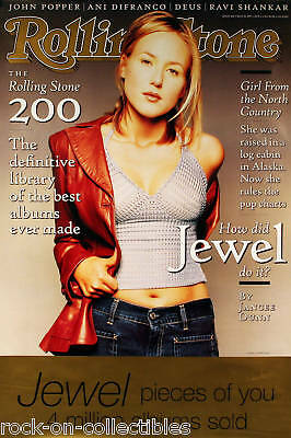 Jewel 1997 Rolling Stone Cover Poster Original
