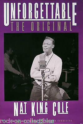 Nat King Cole 1992 Unforgettable: The Original Poster