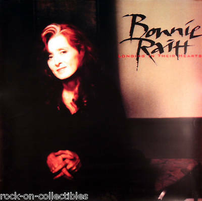 Bonnie Raitt 1994 Longing In Their Hearts Rare Poster Original Jumbo Over Sized