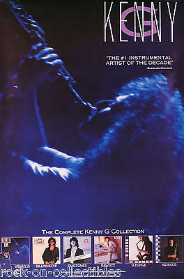 Kenny G 1990 Complete Collection Promo Poster