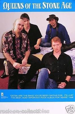 Queens Of The Stoneage 2000 Self Titled Original Promo Poster
