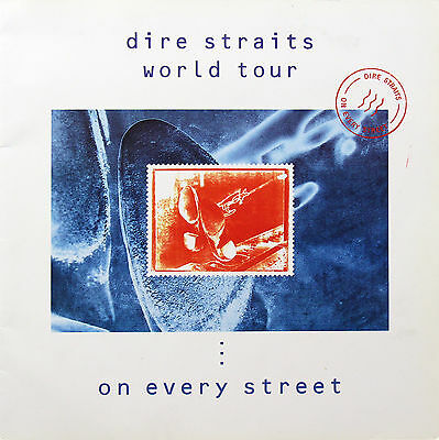 Dire Straits 1992 Original On Every Street Tour Program U.K.