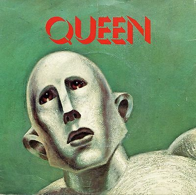 """Queen 1977 We Are The Champions EMI 2708 U.K. Import 7"""" Single"""