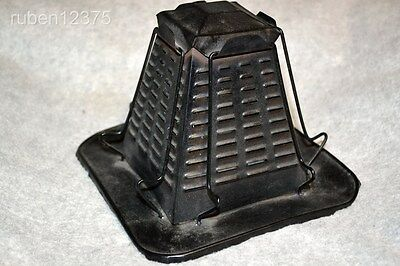 Antique Pyramid 4 Slice Bread Toaster for Kitchen Wood Burning Stove or Campfire