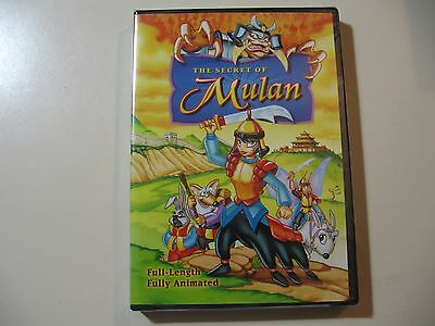 The Secret of Mulan (DVD, 2006) Brand New and Sealed