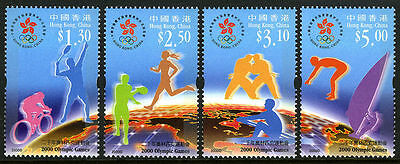 China Hong Kong 2000 Olympic Game stamps