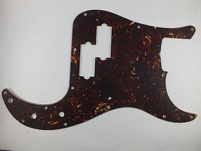 Relic AGED TORTOISESHELL 60's PRECISION BASS PICKGUARD #14 for Fender P Bass