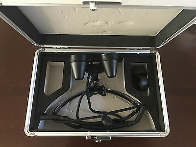 $1200 SurgiTel Oakley Flip Up Loupes EVC300 3.0X magnification (Surgitel Dental)