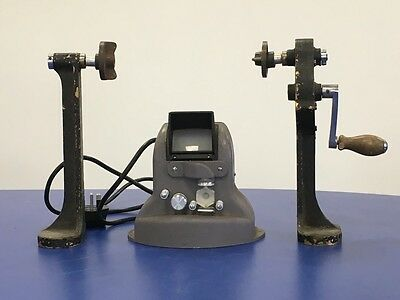 Haynorette MkII 16mm Cine Film Viewer With Winding Arms