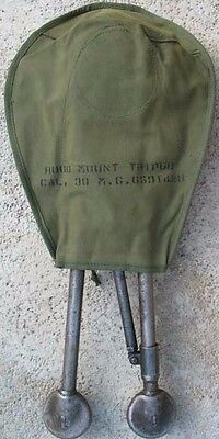 Us Browning Tripod Cover Hood Vietnam Era Nos 1973 Dated Od Canvas