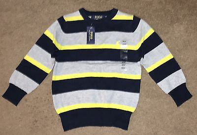 New Polo Ralph Lauren Toddler Boy Pullover Sweater