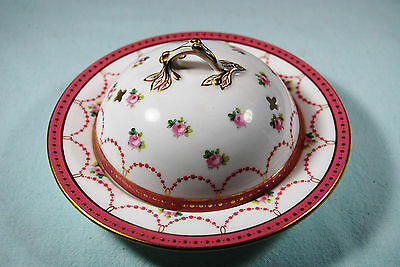 1 Minton for Davis Collamore G8607 Domed Butter Dish, RARE c.1901