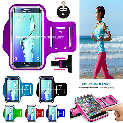 NEW Sports Gym Running Walking Yoga Arm Armband Belt Case For Apple & Samsung