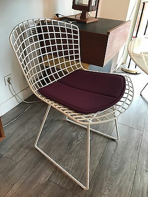 Chaise Bertoia Knoll Blanche Authentique