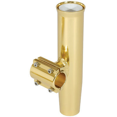 Lee'S Clamp-On Rod Holder Gold Alum Horizontal Pipe Size #1 [Ra5201Gl]