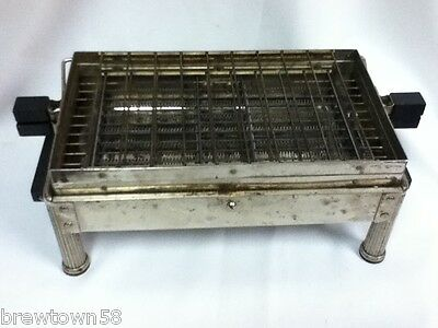 Decorator antique vintage metal Sunbeam 1923 toaster panini decor kitchen JB5