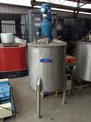 Viatec 65 Gallon SS Jacketed Mixing Process Tank w/ Agitator 1/2HP 1750RPM