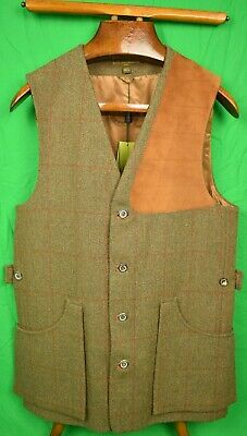 """""""Classis Holland & Holland Tweed Shooting Vest"""""""