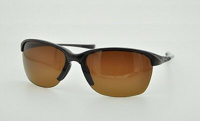 55b5074d8e Oakley Unstoppable OO9191-03 Sunglasses Blackberry Polarized Brown Lens   Display