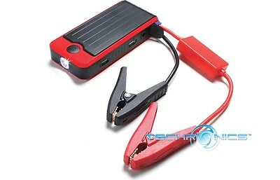 Powerall Deluxe Pbjs12000R All-In-One Power Bank Car Jump Starter Led Flashlight