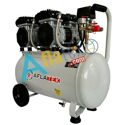 COMPRESSORE ARIA 1800W 55dB aflatek 2018 80/Litri 2,5HP