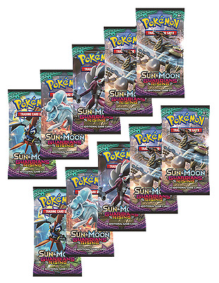 10 x Guardians Rising Booster - Pokemon TCG - CHEAP, NEW and SEALED
