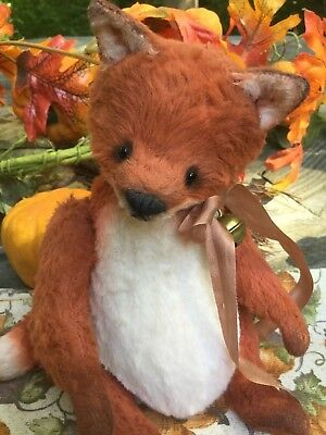 Galina Morozova * Bear-Tots * One-Of-A-Kind Fox Cub