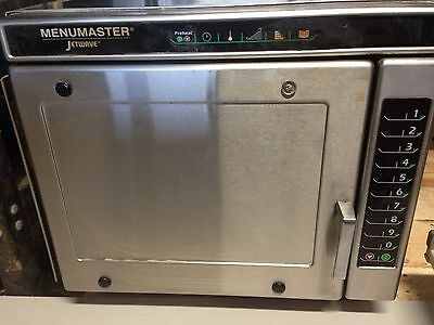 AMANA MENUMASTER MCE14 Commercial Jetwave Combination Oven 2700/1400 Watts