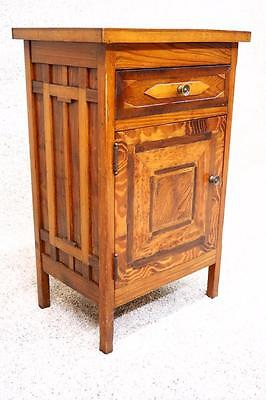PA Dutch Folk Art Antique Night Stand Side End Occasional Table Nightstand
