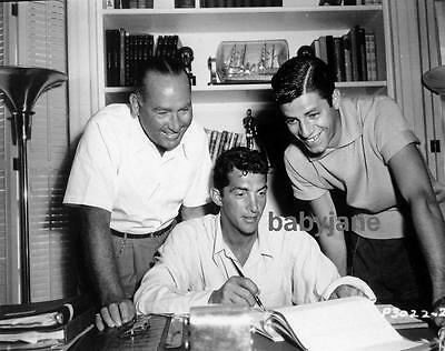 072 Jerry Lewis Dean Martin Sign Contract With Paramount Pictures Photo