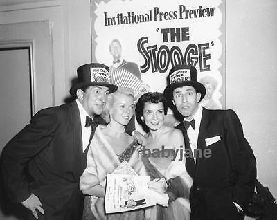 070 Jerry Lewis Dean Martin & Wives At Press Preview For The Stooge Photo