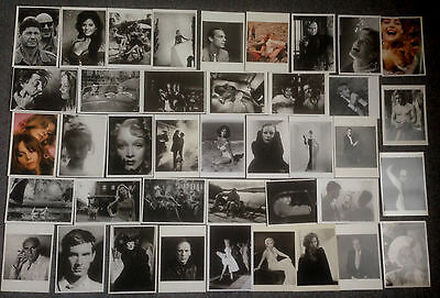 Lot Of 40 Modern Reproduction Postcards Of Film Stars