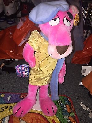"""Rare, Vintage 1980 Pink Panther """"Touch of Velvet"""" Posed Doll"""