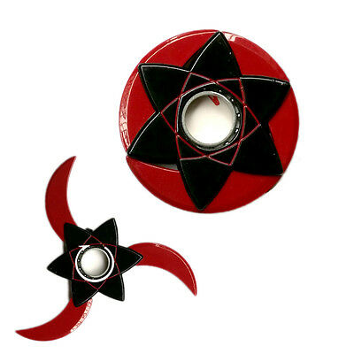 Anime NARUTO Kakashi Fidget Hand Spinner Kids Finger Toy Metal Shuriken Cosplay