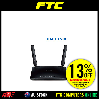 TP-Link TL-MR6400 300Mbps Wireless N 4G LTE Router SIM Card Slot WIFI WAN