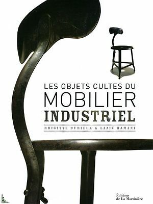 Cult objects of industrial furniture, French book