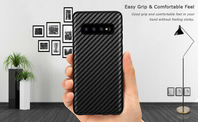 Shockproof Carbon Fiber Cover Case For Samsung Galaxy Note 8 / S8/S9/ S10+/Plus