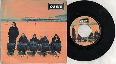 """OASIS Roll With It 7"""" Ps, Orig 1995 Jukebox Issue Vinyl Single, B/W It's Better"""