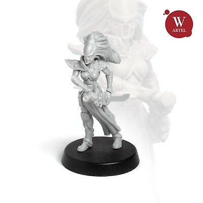 """28mm wargame and collectible miniature, Bone Banshee by """"W"""" Artel"""
