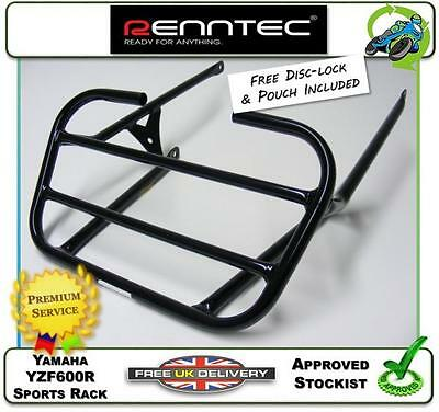 New Renntec Luggage Carrier Sports Rack Black Yamaha Yzf600R Thundercat 96 - 03