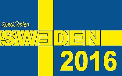 Sweden Eurovision Song Contest Stockholm 2016 T Shirt Winner Band Pop Music Tops