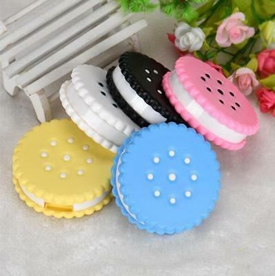 Eyewear Cases Random Color Sweet Contact Lenses Box Cookies Colored 1 Pcs Case