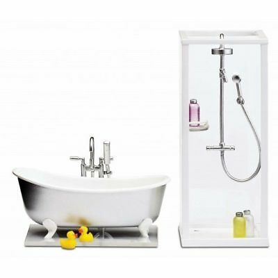 *NEW* Lundby Smaland Bath & Shower Set  60.2089