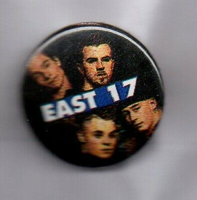 EAST 17 BUTTON BADGE 90s POP BOY BAND Stay Another Day, Walthamstow 25mm Pin