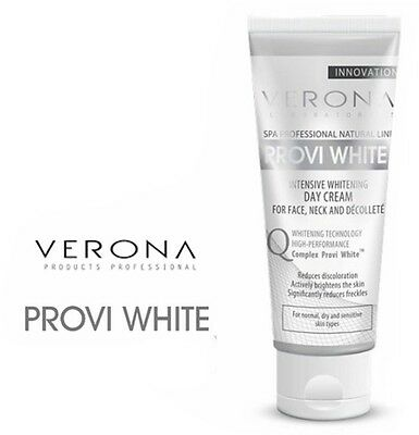 VERONA PROVI WHITE INTENSIVELY WHITENING DAY FACE CREAM dark spots pigmentation