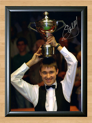 Stephen Hendry Snooker Masters Signed Autographed A4 Poster Photo Print Pool Cup