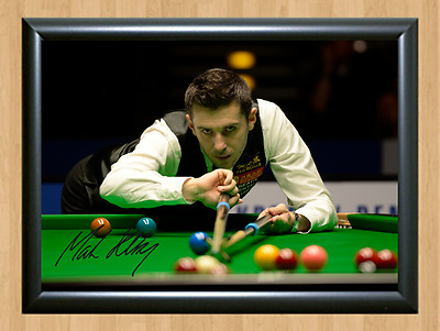 Mark Selby Snooker Sports Signed Autographed A4 Poster Photo Print Memorabilia 1