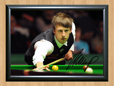 Judd Trump Snooker Sports Signed Autographed A4 Poster Photo Print Memorabilia 2